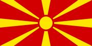 vlajka Makedonie